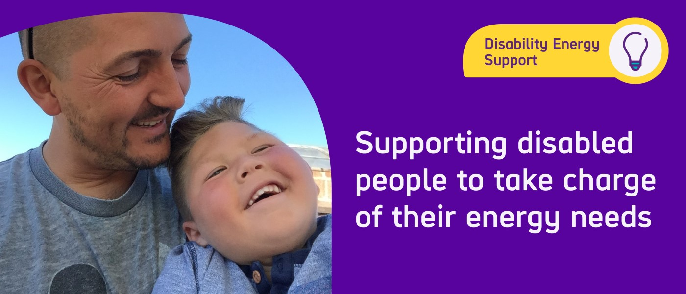 Disability energy support service supporting disabled people to take charge of their energy needs
