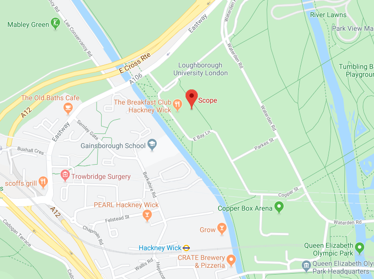 map showing scopes head office location